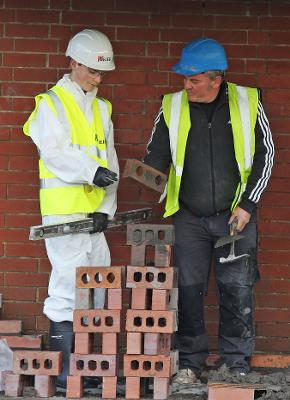 Bricklaying training